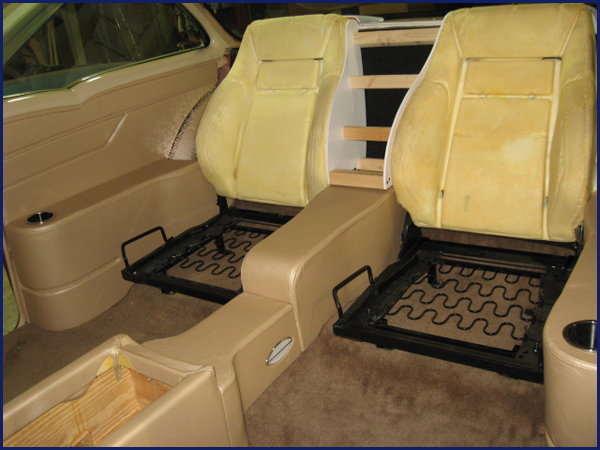 Progressive designs car upholstery custom upholstery for Custom automotive interior designs