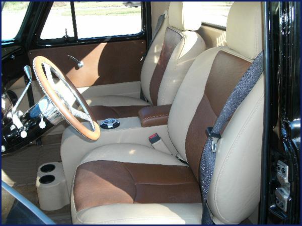 Progressive Designs Car Upholstery - Custom Upholstery